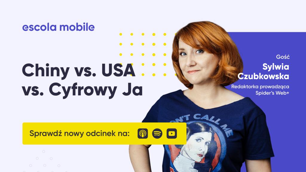 Sylwia Czubkowska (Spidersweb+) Chiny vs USA vs Cyfrowy Ja EM#78
