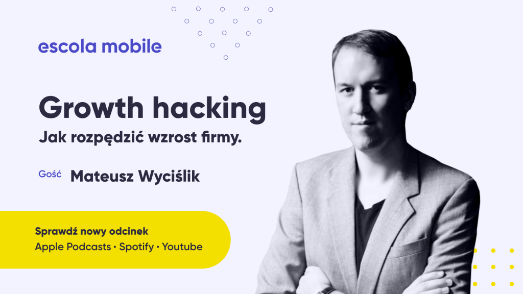 Growth hacking – jak zmierzyć efektywność pracy w marketingu Mateusz Wyciślik (Leadhub.pl) EM #72