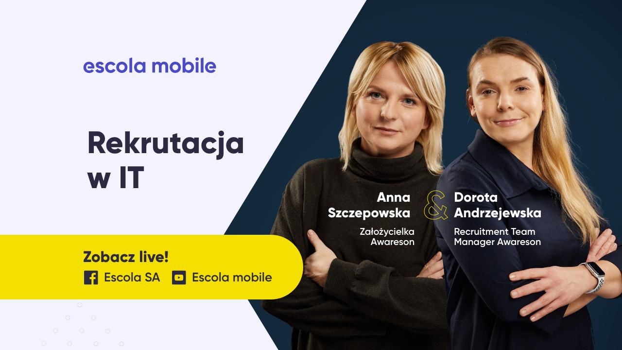 Jak znaleźć, zrekrutować i utrzymać programistów w firmie Anna Szczepowska i Dorota Andrzejewska (Awareson) EM #86